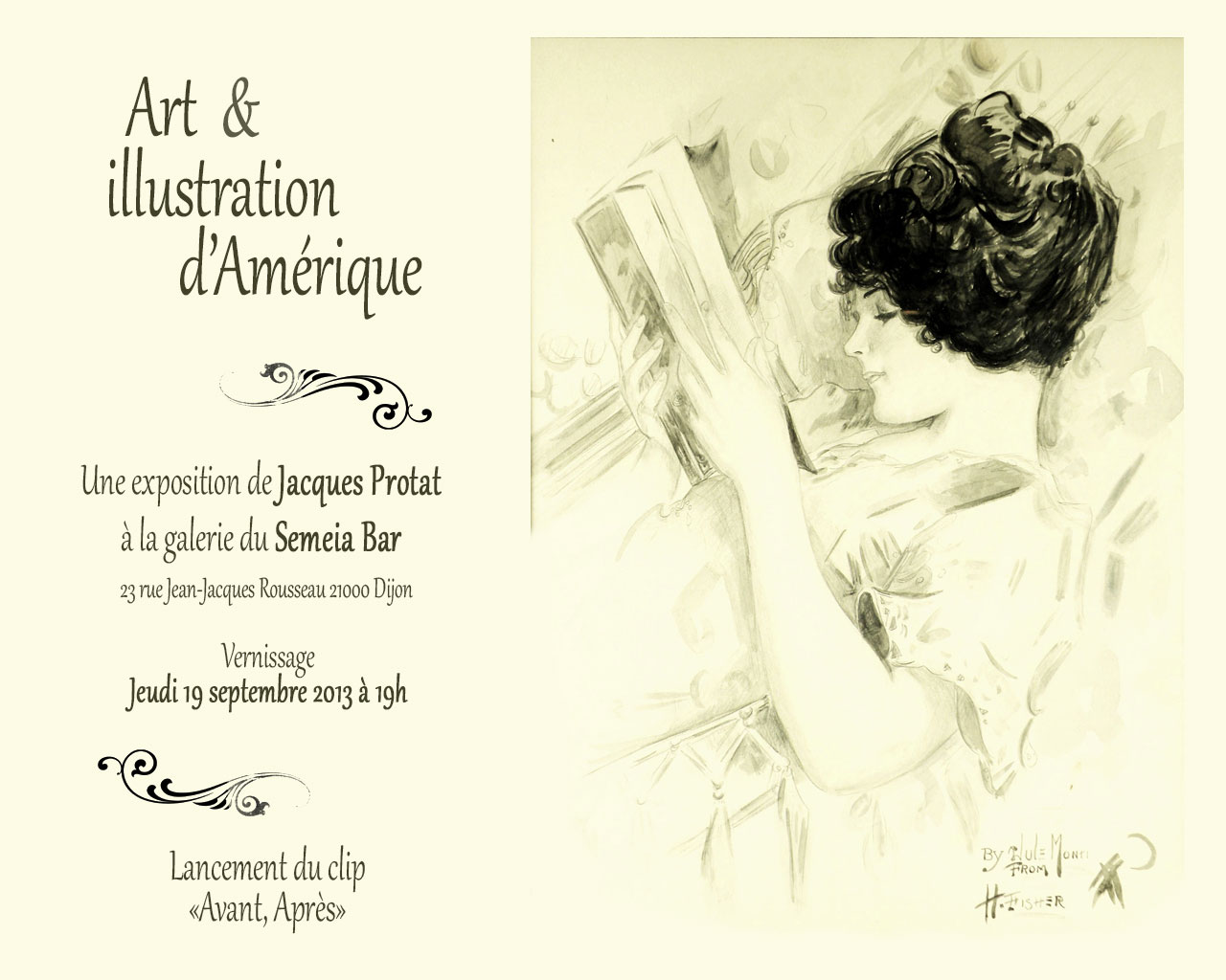 L'artiste du moment : Jacques Protat / James Porter