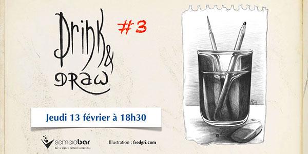 Semeia Bar - Drink & Draw #3